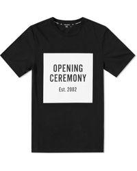 Opening Ceremony - OC Logo Short-Sleeved T-Shirt - Lyst