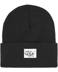 Save Khaki - Made In Usa Patch Beanie Hat - Lyst
