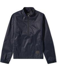 OLAF HUSSEIN - Half Zip Nylon Jacket - Lyst