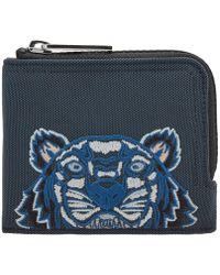 KENZO - Tiger Zip Wallet - Lyst