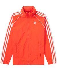 adidas - Originals Superstar Windbreaker Jacket - Lyst