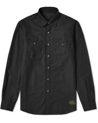 Uniform Experiment - Embroidered Utility Shirt - Lyst