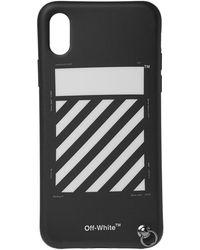 Off-White c/o Virgil Abloh - Black Diag Strap Iphone X Case - Lyst