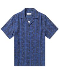Saturdays NYC - Canty Kuba Print Shirt - Lyst