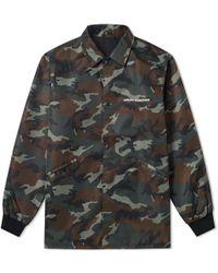 Uniform Experiment - Big Coach Jacket - Lyst