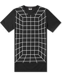 Comme des Garçons - Comme Des Garcons Homme Plus Grid Print Tee - Lyst