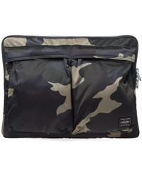 Porter - Counter Shade Camo Document Case - Lyst