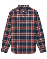 Beams Plus - Button Down Multi Check Shirt - Lyst