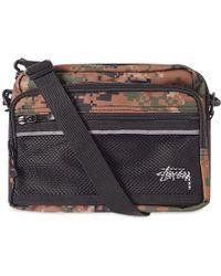 Stussy - Digi Camo Shoulder Bag - Lyst