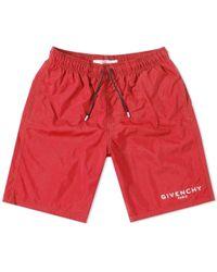Givenchy - Logo Swim Short - Lyst