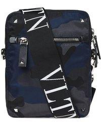 Valentino - Camo Cross Body Bag - Lyst