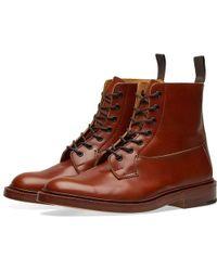 Tricker's - Tricker's Burford Derby Boot - Lyst