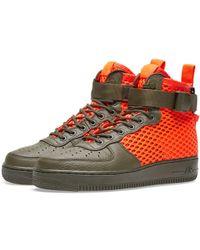 Nike - Sf Air Force 1 Mid Qs - Lyst