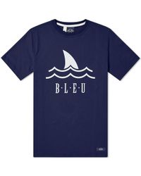 Bleu De Paname - Shark Logo Tee - Lyst