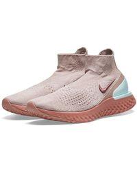 Nike - Rise React Flyknit W - Lyst