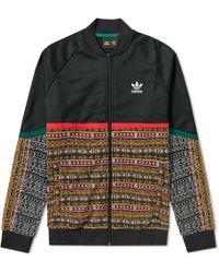 89d4ed95dd756 adidas X Pharrell Williams Reversible Jacket Green in Green for Men ...