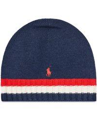 Polo Ralph Lauren - Flag Stripe Beanie - Lyst