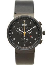 Braun - Bn0035 Chronograph Watch - Lyst