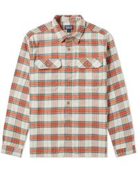 Patagonia - Fjord Flannel Shirt - Lyst