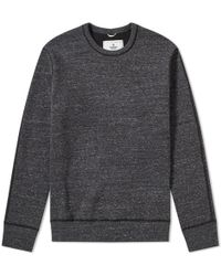 Reigning Champ - Side Zip Crew Sweat - Lyst