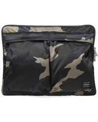Porter | Counter Shade Camo Document Case | Lyst