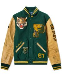 Polo Ralph Lauren - Embroidered Bomber Jacket - Lyst