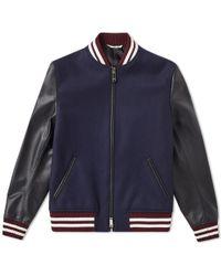 Valentino - Panther Varsity Jacket - Lyst