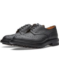 Tricker's - Tricker's Commando Sole Ilkley Derby Brogue - Lyst