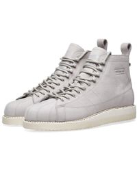 sneakers for cheap 36af9 2f9f1 adidas - Superstar Boot W - Lyst