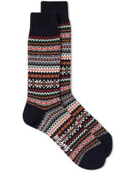 Beams Plus - Fair Isle Sock - Lyst