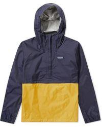 Patagonia   Torrentshell Pullover Jacket   Lyst