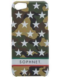 Sophnet - Star Print Iphone Case - Lyst