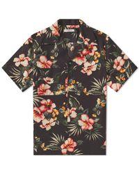 Valentino - Floral Print Vacation Shirt - Lyst