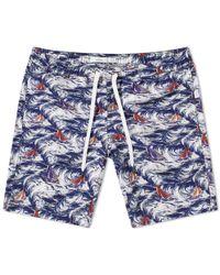 "Onia - Charles 7"" Mediterranean Swim Short - Lyst"