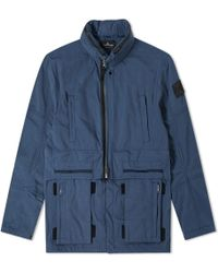 1651f914f3a Stone Island Shadow Project Poly-hide Garment Dyed Hooded Parka in ...