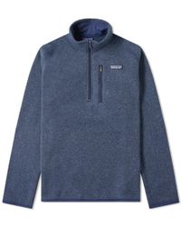 Patagonia - Better Sweater 1/4 Zip Jacket - Lyst