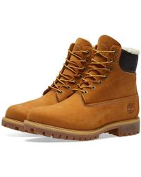 """Timberland - Warm Lined 6"""" Premium Boot - Lyst"""