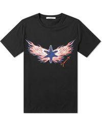 Givenchy Fire Star Logo Tee
