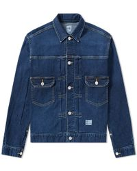 Bedwin And The Heartbreakers - Cassidy Denim Jacket - Lyst