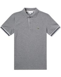 Lacoste - Tipped Sleeve Polo - Lyst
