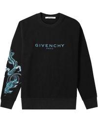Givenchy - Capricorn Dragon Arm Crew Sweat - Lyst