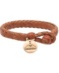 Chamula - Wide Flat Woven Bracelet - Lyst