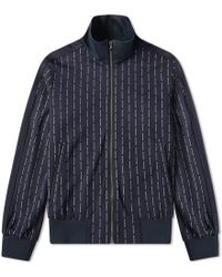 Wooyoungmi - Repeat Logo Track Jacket - Lyst