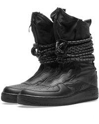 a40018d69cda2 Lyst - Nike Men s Lunar Force 1 Duckboot Boot in Black for Men