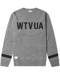 WTAPS - Crew Knit - Lyst