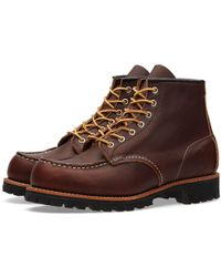 """Red Wing - 8146 Heritage Work 6"""" Moc Lug Boot - Lyst"""