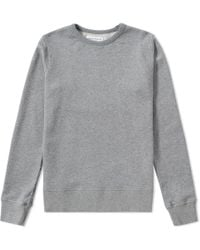 Officine Generale - French Terry Crew Sweat - Lyst