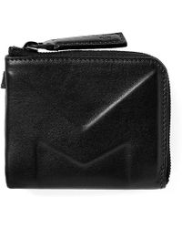 Moncler - Leather Embossed Coin Wallet - Lyst