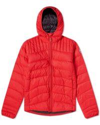 Canada Goose Brookvale Hooded Jacket - Red