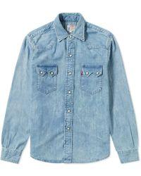 Levi's - Levi's Vintage Clothing 1955 Sawtooth Shirt - Lyst